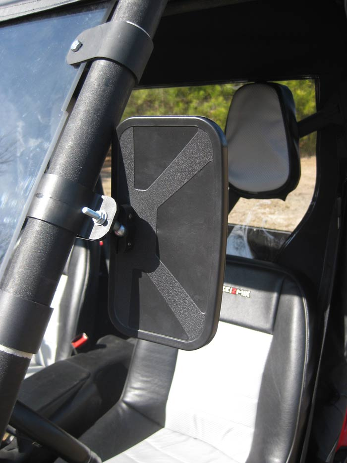 Kubota Tractor Rear View Mirror : Quadtech side by road kits mirrors
